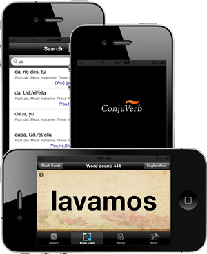 Conjuverb - Spanish Verb Conjugations Made Easy